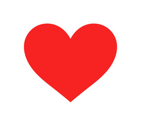 Red heart icon.