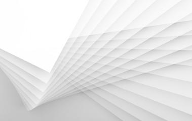 3d geometric pattern. Double exposure