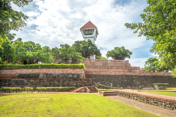 Anping Fort in Tainan City, Taiwan.
