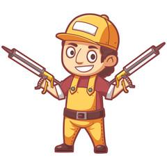 Cute Cartoon Character. Concept Art. Realistic Illustration. Video Game Digital CG Artwork. Character Design.