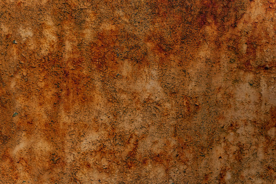 Rusty worn metal texture background
