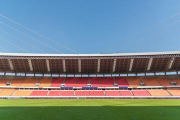 Foto op Plexiglas Stadion empty football stadium
