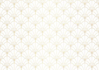 Vector floral damask seamless pattern. Elegant abstract art nouveau background. Classic flower motif texture.