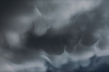 Texture with storm clouds