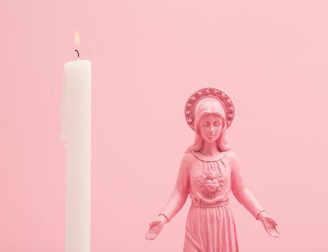 Pink altar