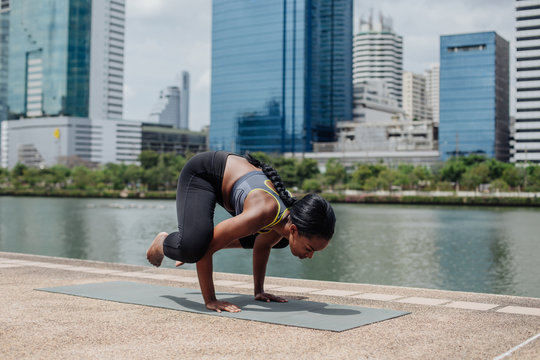 Outdoor Yoga in the City