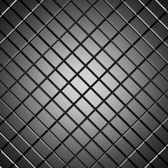 Foto op Canvas Aan het plafond Classic black tile design texture background