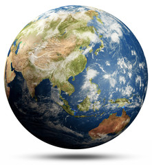 Wall Mural - Planet Earth globe - South-East Asia