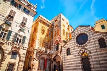 Church of San Matteo in Genoa, Liguria, Italy