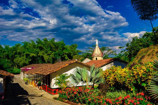 paisaje natural eje cafetero colombia tropico sudamerica