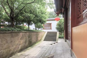 Temple path Fototapete