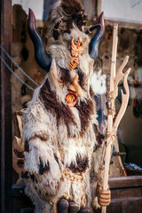 Traditional bulgarian folklore costum of Kuker.