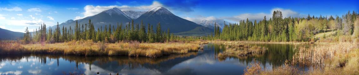 Canadian landscape, Jasper National Park, Alberta, Canada