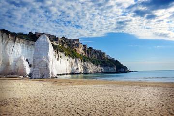 Gargano National Park, Italy, Pizzomunno Beach in Vieste