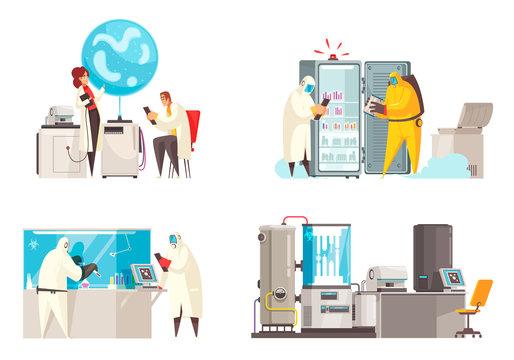 Microbiology Lab Design Concept