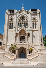 Basilica of Jesus the Adolescent in Nazareth, Israel