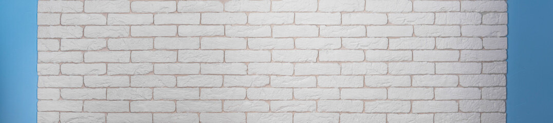 Construction background or brick wall background of white abstract style for kitchen