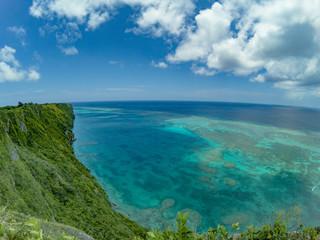 沖縄 宮古島 離島 絶景 パノラマ 写真素材