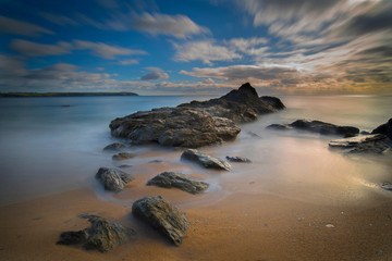 St Austell bay Cornwall