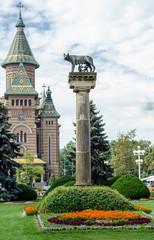 Timișoara Lupa Capitolina, Kapitolinische Wölfin