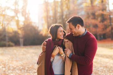 Fototapeta Couple on a date obraz