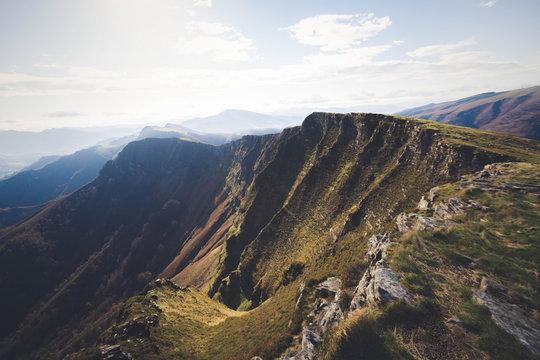Pic et crêtes d'Iparla Bidarray Pays Basque