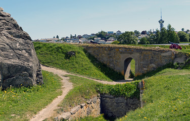 in der Festung Kristiansten von Trondheim Norwegen