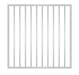 Cage metal bars. vector illustration