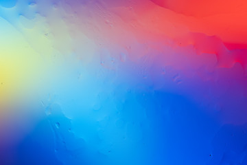 Artsy Neon Texture Liquid Colorful