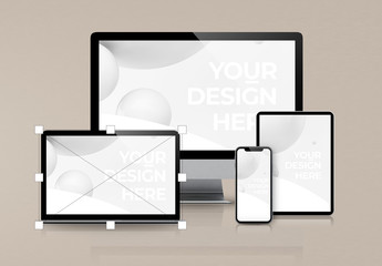 Digital Devices Mockup Scene Creator