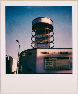 Los Angeles Pop Culture Landmark Shot on Polaroid