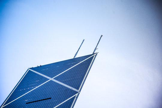 Close-up tour Bank of China