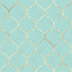Abstract geometric seamless pattern. Oriental tiles. Vintage texture
