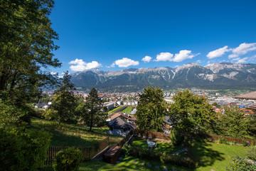 Wall Mural - Innsbruck Panorama, Tirol / Österreich