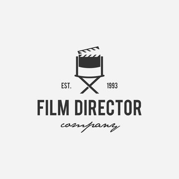 Creative logo design for film, cinema, director, tv company