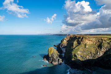 Sunny Afternoon on Cornwall's Coast