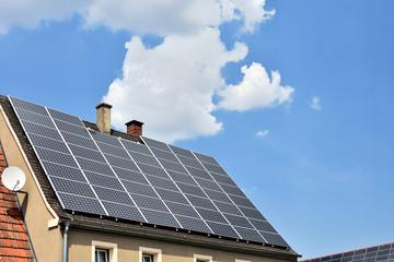 Sonnenstrom vom Dach