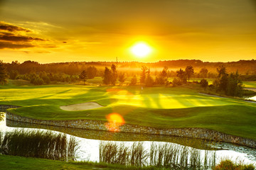 Photo sur Aluminium Melon Golf course