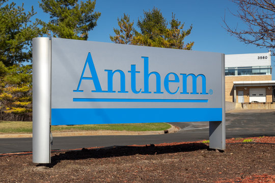 Anthem Insurance Company Exterior Entrance and Sign