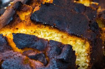 Gâteau brûlé