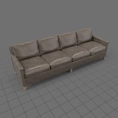Modern four seater sofa