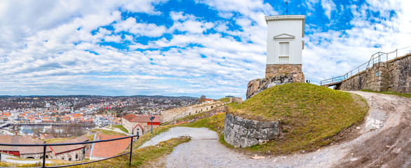 Fredriksten fortress in Halden, Norway