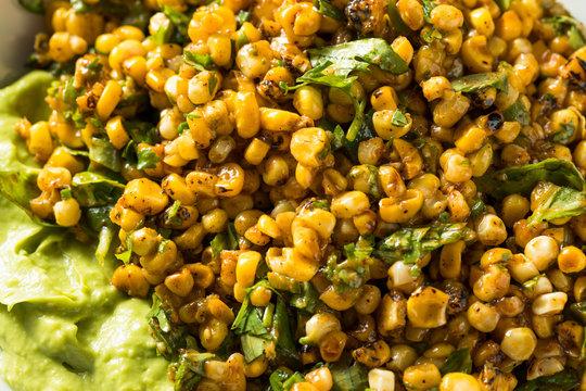 Homemade Roasted Street Corn Salad Dip
