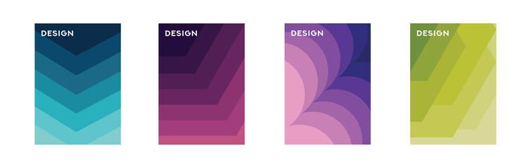 Minimalist Background Shape, Gradient Design Cover, Flayer, Banner, Brochure, etc.