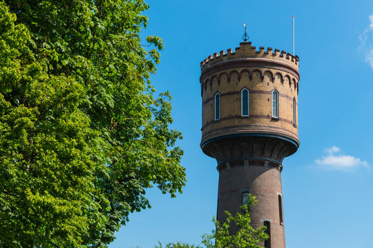 Water tower in Woerden, The Netherlands