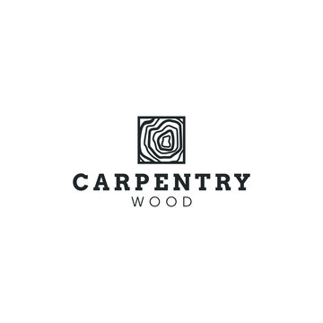 best original logo designs inspiration and concept for iron wood, carpentry, construction and woodpecker