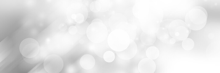 white blur abstract background. bokeh christmas blurred beautiful shiny Christmas lights. Snow background. Wall mural