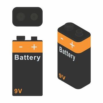 Traditional Battery 9V.