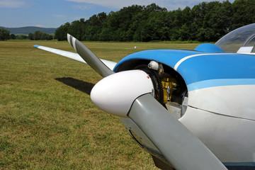 Kleinflugzeug, Propeller