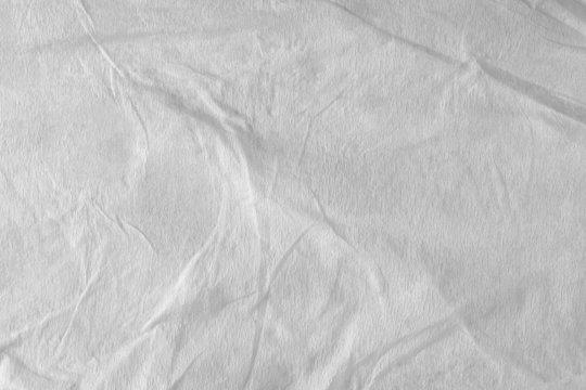 wet texture of white tissue paper